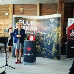 Pidin Eurooppa-päivän puheeni tänä vuonna Lappeenrannassa.