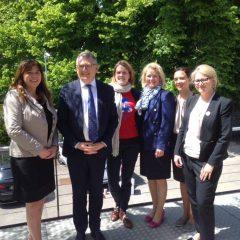 Kävimme työllisyysvaliokunnan kanssa tutustumassa Luxembourgiin jo ennen sen puheenjohtajakauden alkua.