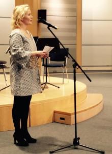 Miapetran alkupuheenvuoro Sibelius-konsertissa 8.12.