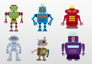 robot-vector