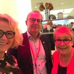 MALLAUSKUVA facebookista Jarkko Eloranta ja Ann Selin. Loka 2017