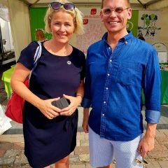 MALLAUSKUVA facebookista Suomi-Areena, helle ja Antton Rönnholm.