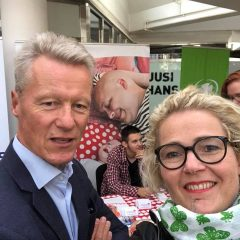 MALLAUSKUVA facebookista elokuu 2018 selfie Ilkka kantolan kanssa